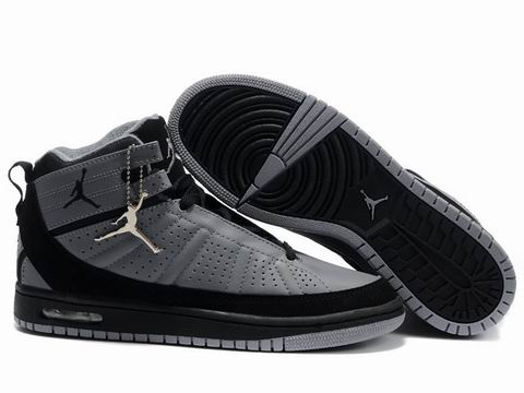 2010 Air Jordan Shoes Grey Black