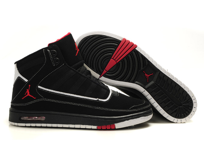 2012 Air Jordan Shoes Black Red
