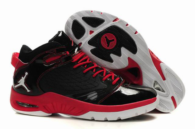 Cheap Air Jordan Shoes New School Black Red White
