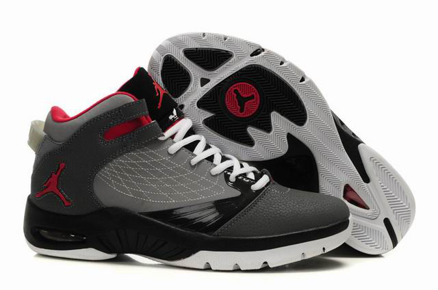 Cheap Air Jordan Shoes New School Grey Black Red