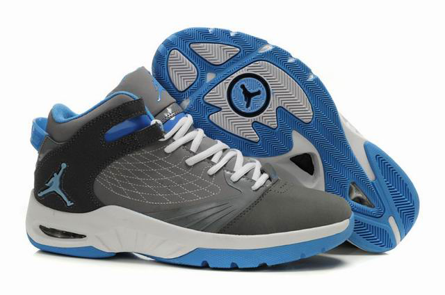 Cheap Air Jordan Shoes New School Grey White Blue