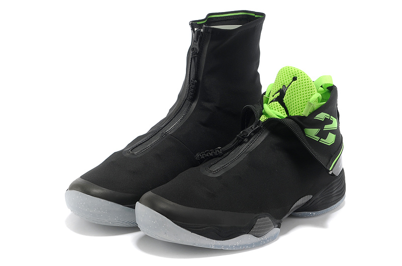 2013 Jordan 28 Black Grey Shoes