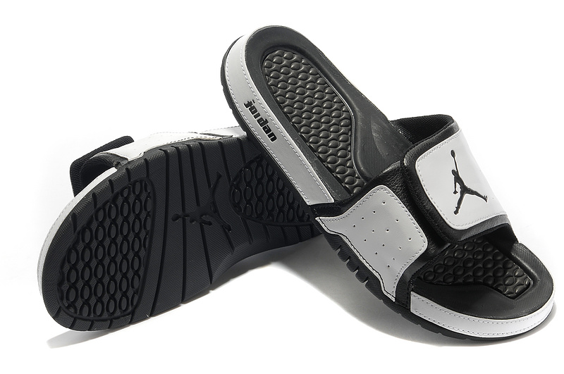 2015 Latest Air Jordan Hydro 2 Grey Black Sandal