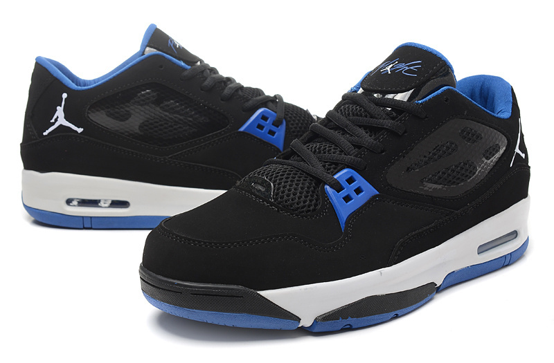 Real Air Air Jordan Flight 23 RST Low Black Blue Shoes
