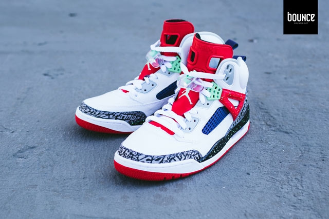 Real Poison Green Jordan Spizike Shoes