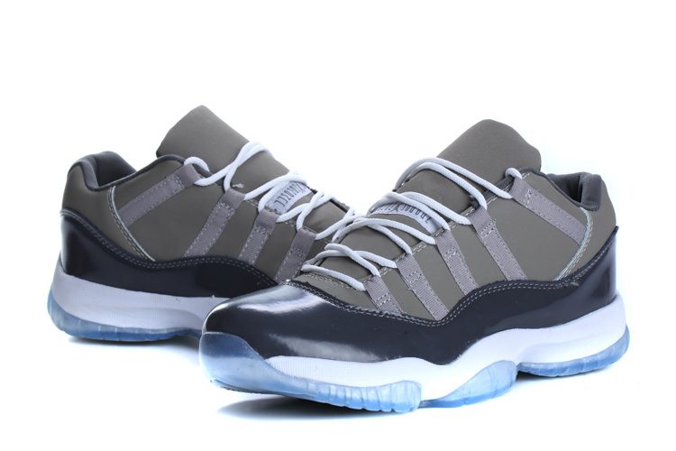 Cheap Real 2015 Jordan Jordan 11 Low Cool Grey
