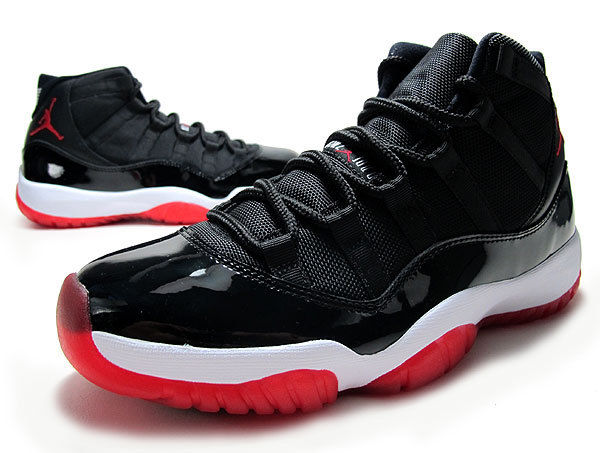 Cheap Real 2015 Jordan Jordan 11 Bred Black Red