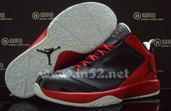 Cheap Air Jordan Shoes Quick Fuse Black Red White