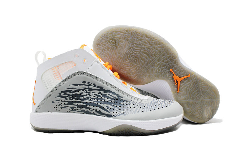 Cheap Air Jordan 26 Shoes White Grey For Women