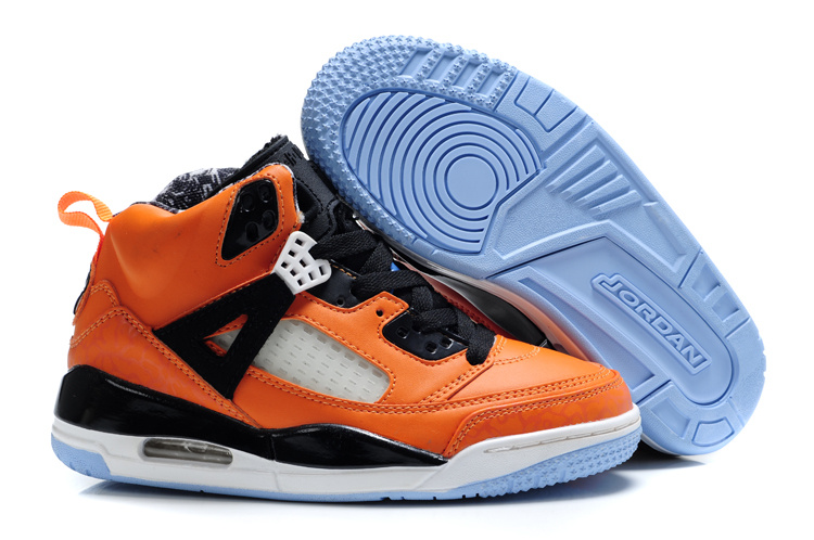 Cheap Air Jordan Shoes 3.5 Orange White For Kids
