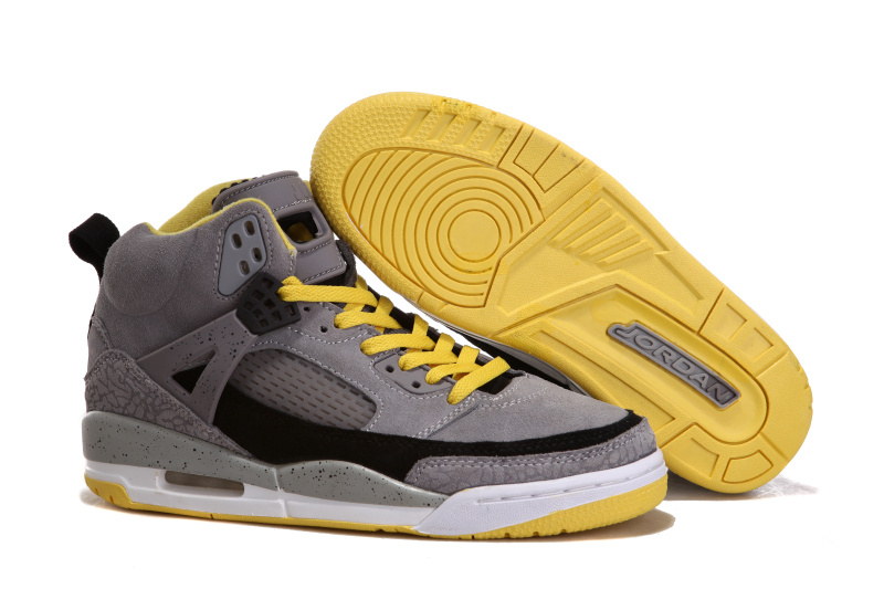 Air Jordan 3.5 Shoes Suede Grey Black White Yellow