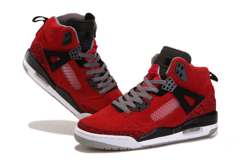 Air Jordan 3.5 Shoes Suede Red Black White