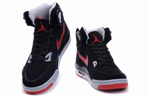 Cheap Air Jordan 4 Shoes High Heel Black Red Grey