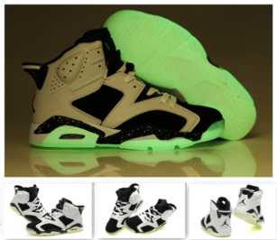 Cheap Air Jordan 6 Shoes Midnight White Black For Women
