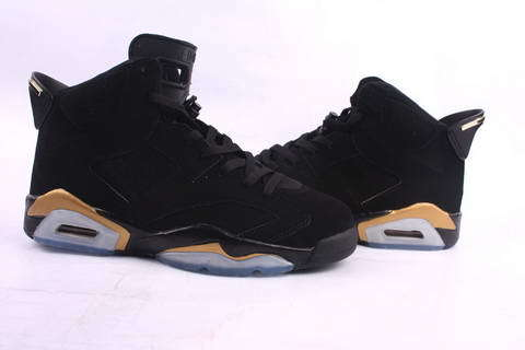Cheap Real 2015 Jordan Jordan 6 Black Gold Footwear