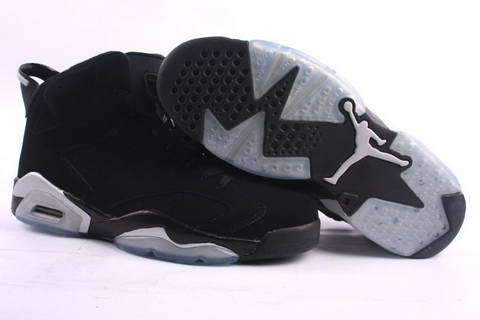 Cheap Real 2015 Jordan Jordan 6 Black Grey Footwear