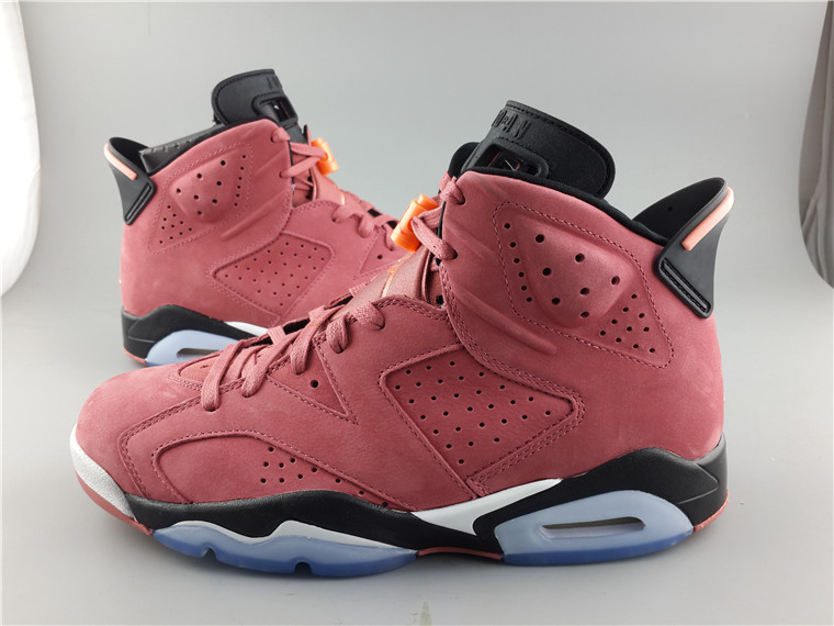 Cheap Real 2015 Jordan Jordan 6 Lipstick Red