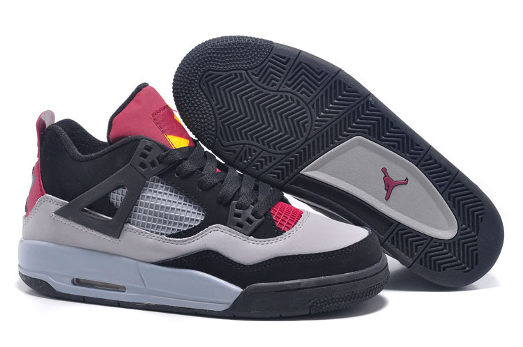 Cheap Real 2015 Jordan Jordan 7Lab4 Black Grey Pink