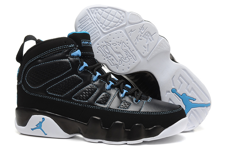 Air Jordan 9 Retro White Blue with 23 Number