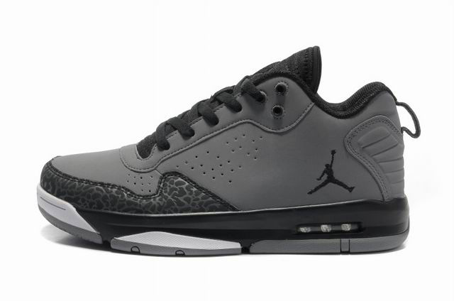 Cheap Air Jordan Shoes After Games II Grey Blacke White