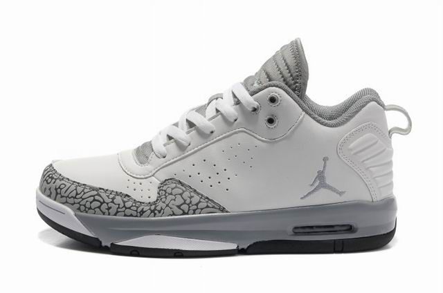 Air Jordan Grey And White