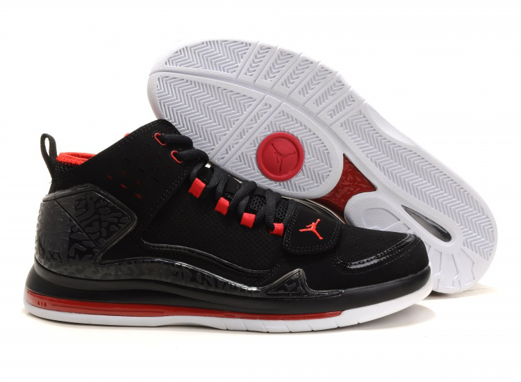 Cheap Air Jordan Shoes Evolution 85 Shoes Black Red