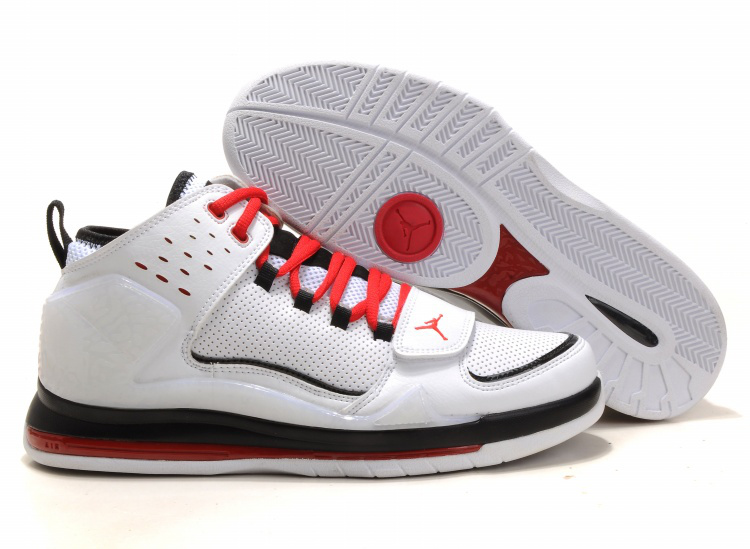 Cheap Air Jordan Shoes Evolution 85 Shoes Black White Black Red
