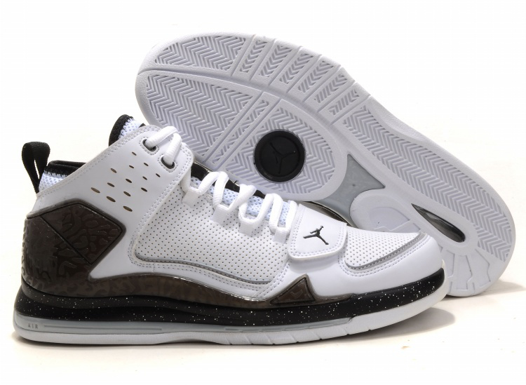 Cheap Air Jordan Shoes Evolution 85 Shoes Black White Brown Black