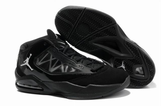 Cheap Air Jordan Shoes Flight The Power All Black Shoes
