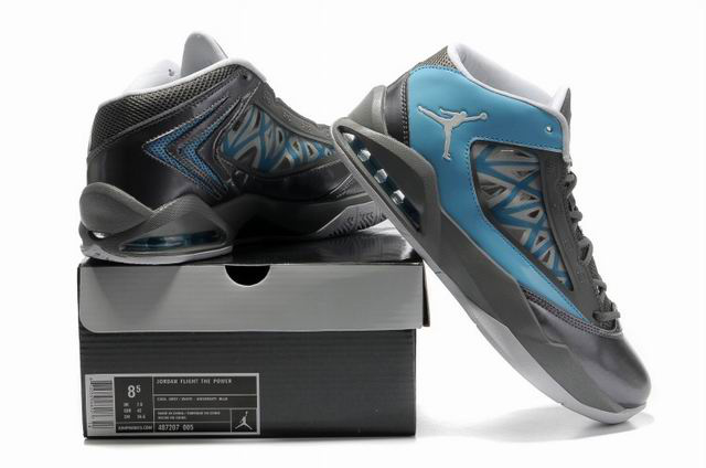 Cheap Air Jordan Shoes Flight The Power Grey Blue Shoes