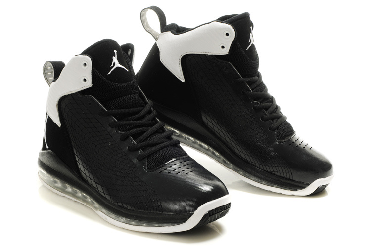 Cheap Air Jordan Shoes Fly Cushion 23 Shoes All Black White
