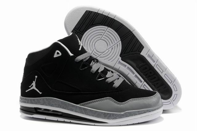 Cheap Air Jordan Shoes Jumpman II Grey Black Grey White