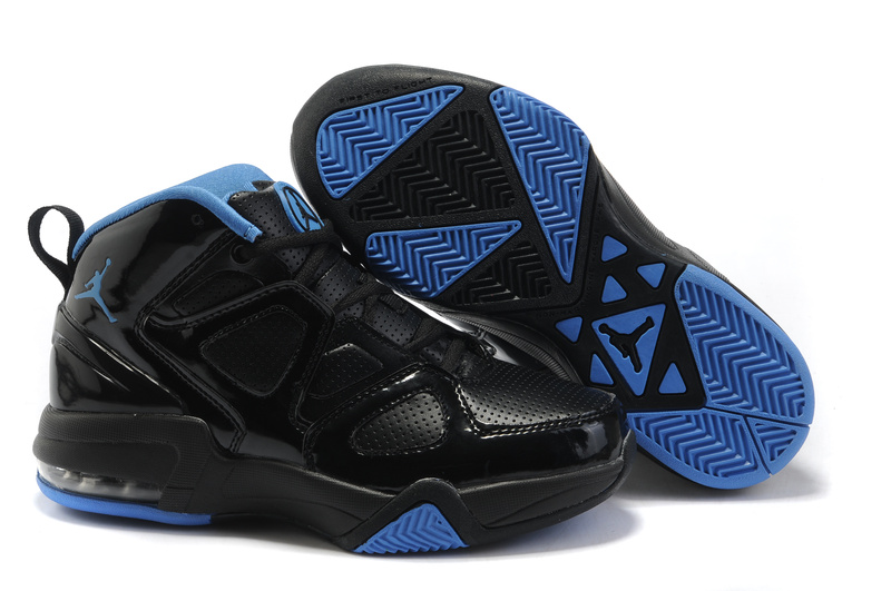 Cheap Air Jordan Shoes Old School II Shoes Black Blue