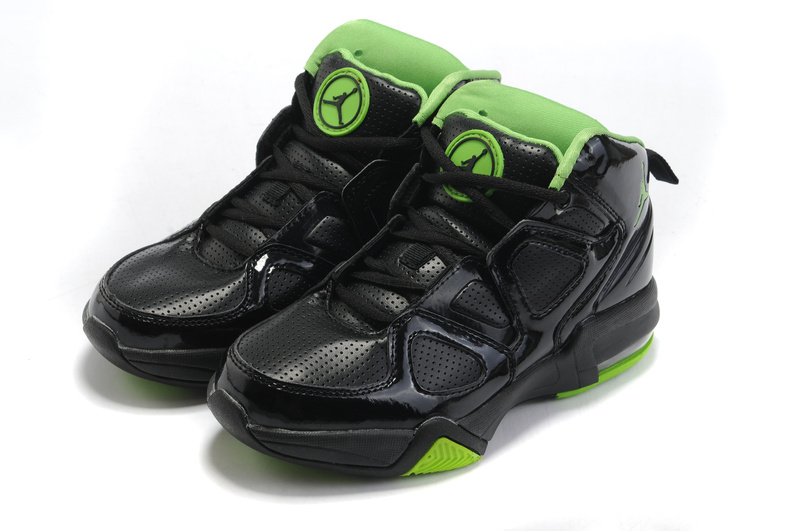 Cheap Air Jordan Shoes Old School II Shoes Black Green