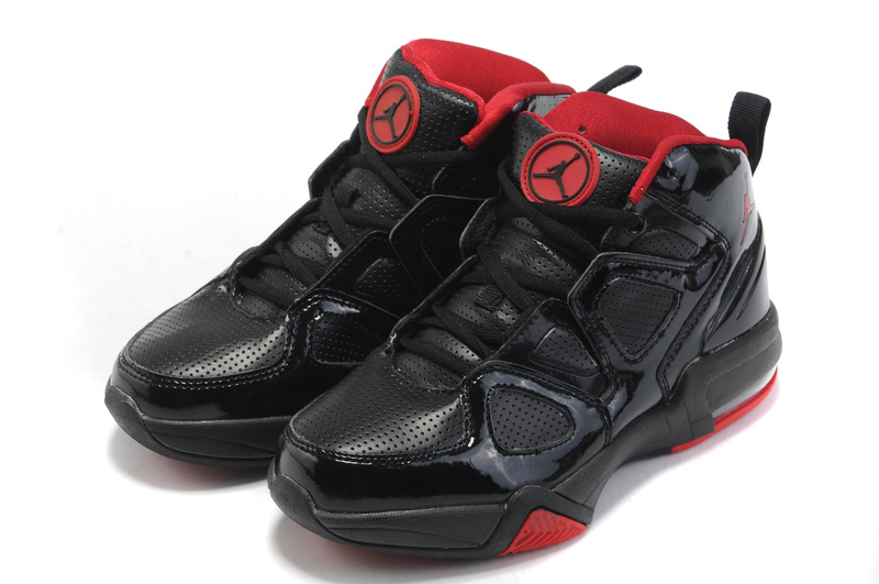 Cheap Air Jordan Shoes Old School II Shoes Black Red
