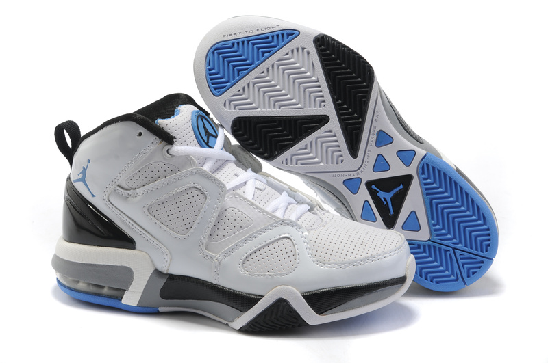 Cheap Air Jordan Shoes Old School II Shoes White Black Blue