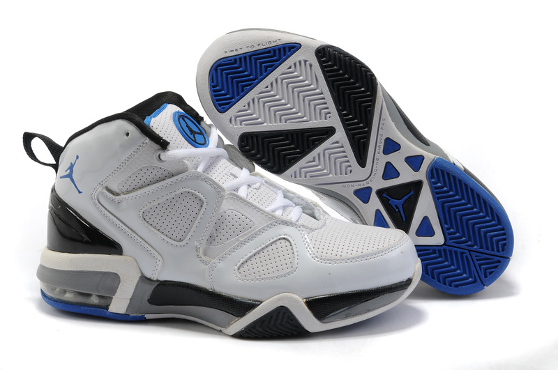 Cheap Air Jordan Shoes Old School II Shoes White Black Dark Blue