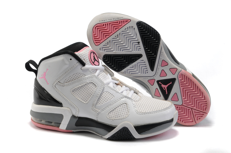Cheap Air Jordan Shoes Old School II Shoes White Black Pink