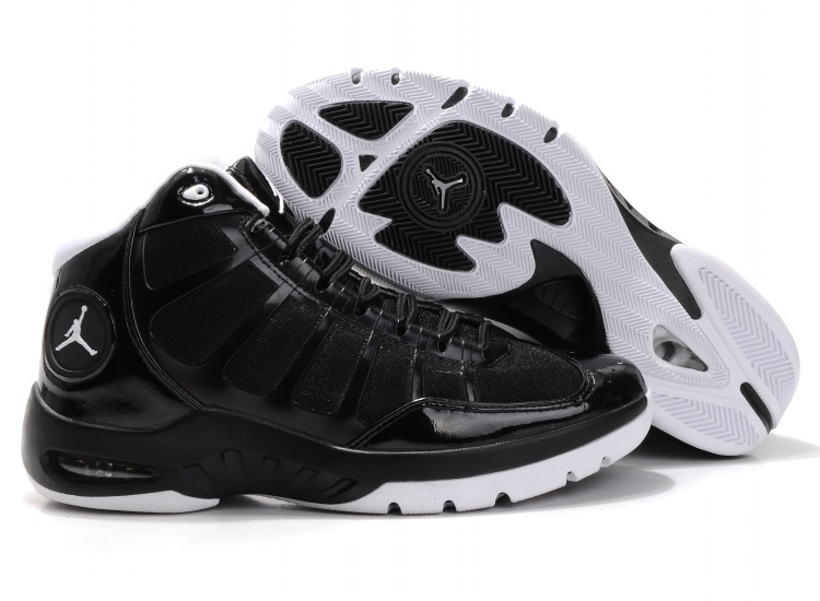 Cheap Air Jordan Shoes Play In Black White Shoes