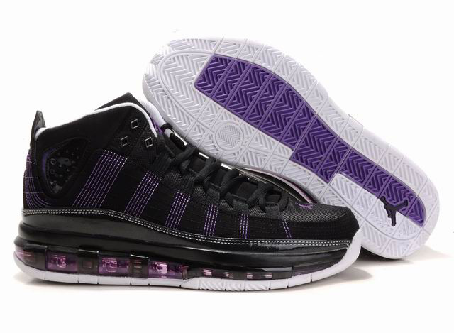 Cheap Air Jordan Shoes Take Flight Black Purple White