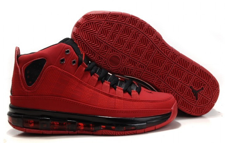 Cheap Air Jordan Shoes Take Flight Red Black