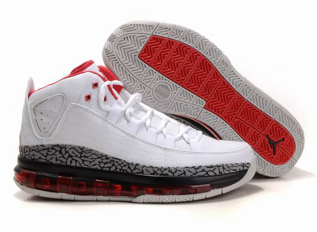 Cheap Air Jordan Shoes Take Flight White Cement Red