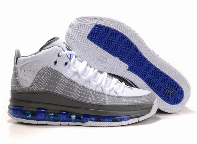 Cheap Air Jordan Shoes Take Flight White Grey Blue