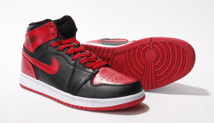 New Air Jordan 1 Black Red White With Brand Quality