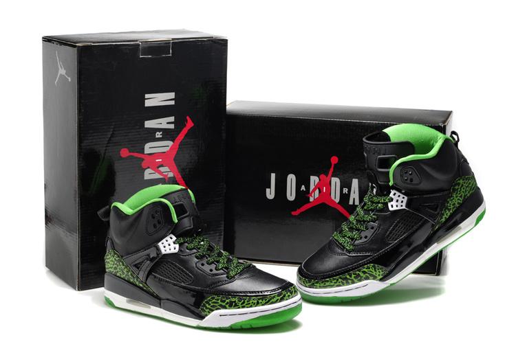 New Air Jordan Shoes 3.5 Black Green White