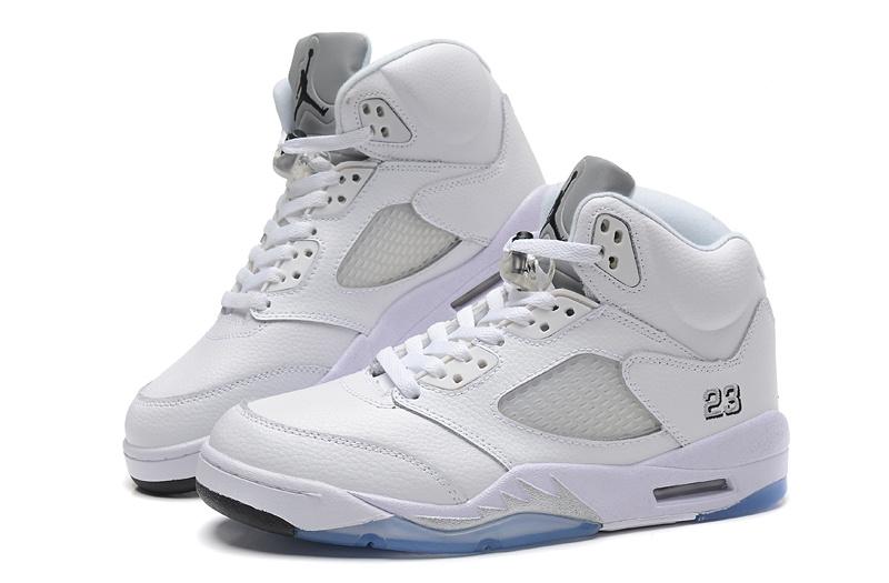 Cheap Real 2015 Jordan Jordan 5 All White