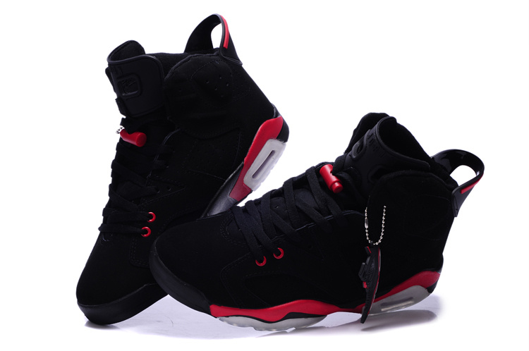 Cheap Real 2015 Jordan Jordan 6 Black Red