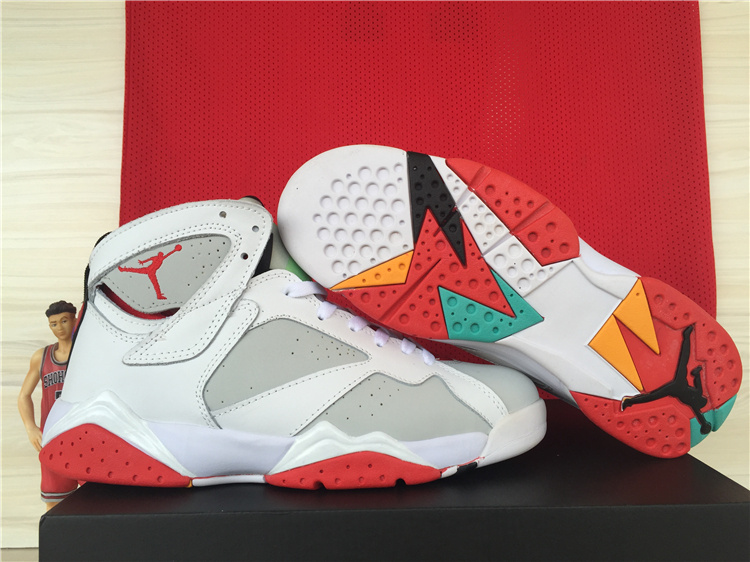 Real Jordan 7 Bugs Bunny Lover Shoes
