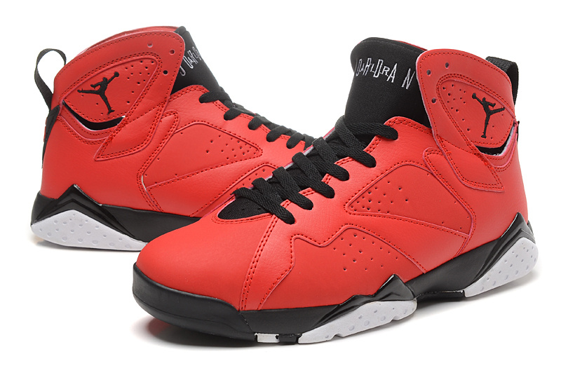 Cheap Real 2015 Jordan Jordan 7 Red Black