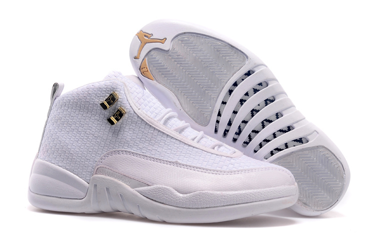 2015 New Arrival All White Jordan 12 Future Shoes